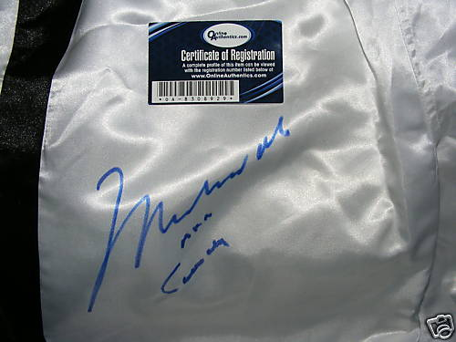 Muhammad Ali Signed Boxing Trunks