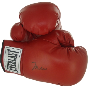 Authentic signed Muhammad Ali Boxing Gloves